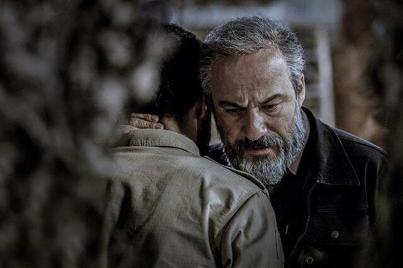 امیر آقایی در نمایی از فیلم سینمایی