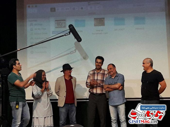 ساعد نیکزاد، کیوان علی محمدی و کامپوزیا پرتوی/ کارگاه های سینمای حرفه ای