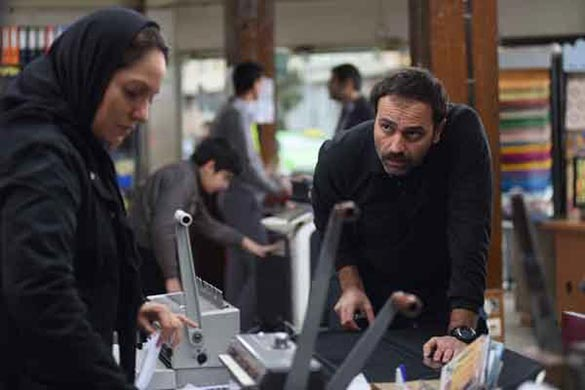 مهناز افشار و آرش مجیدی در نمایی از فیلم سینمایی