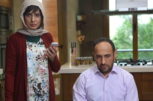 آیدا کیخانی و علی سرابی در نمایی از فیلم سینمایی