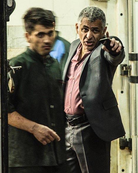 مانی حقیقی در فیلم سینمایی «کشتارگاه» به کارگردانی عباس امینی