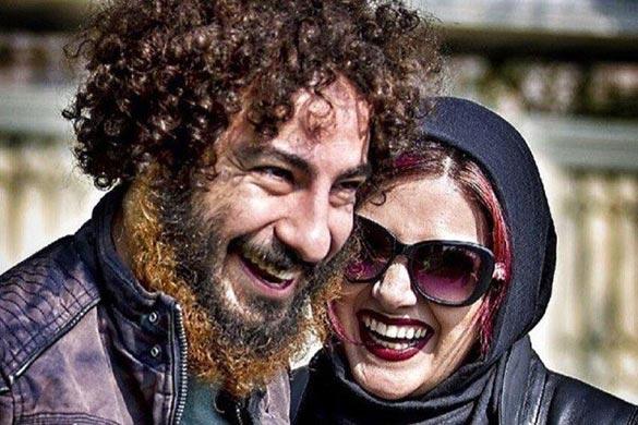 نوید محمدزاده و باران کوثری در نمایی از فیلم سینمایی
