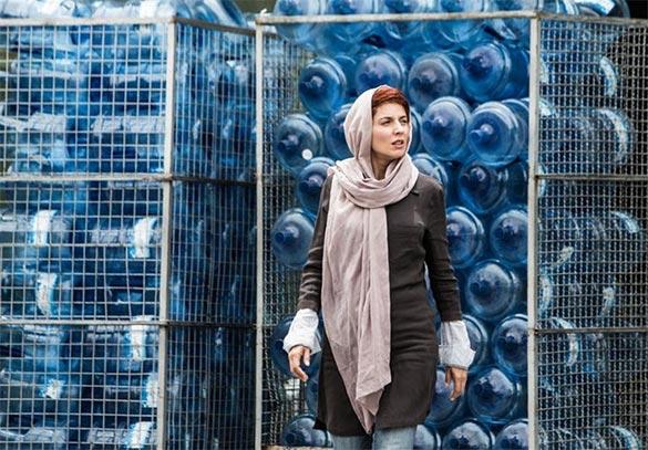 لیلا حاتمی در نمایی از فیلم سینمایی