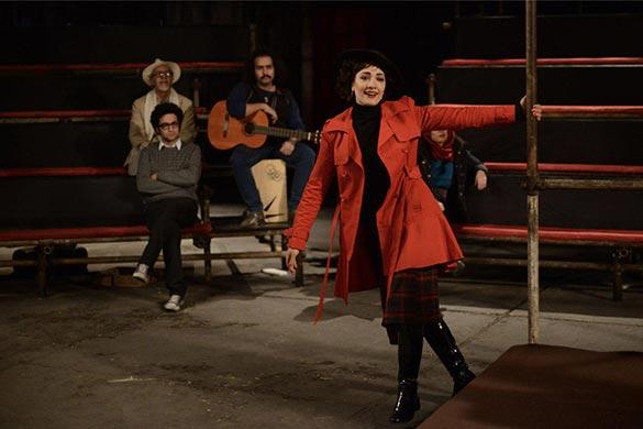 مینا ساداتی در نمایی از فیلم سینمایی