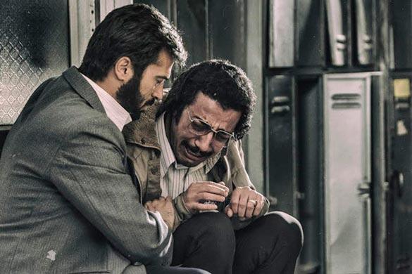 مهدی زمین پرداز و احمد مهران فر در نمایی از فیلم سینمایی