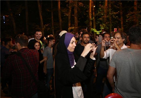 پرویز شهبازی و آزاده نامداری در فیلم سینمایی