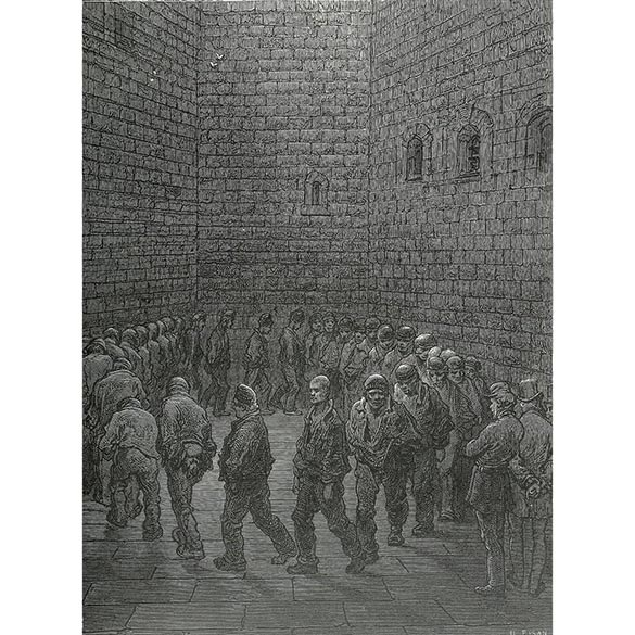 اثری از «پاول گوستاو دوره» نقاش فرانسوی که در متن اشاره شده و در فیلم «The round up» از آن الهام گرفته شده است