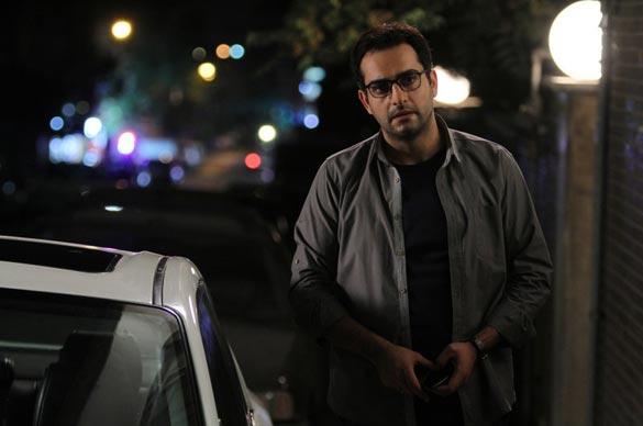 حامد کمیلی در نمایی از سریال