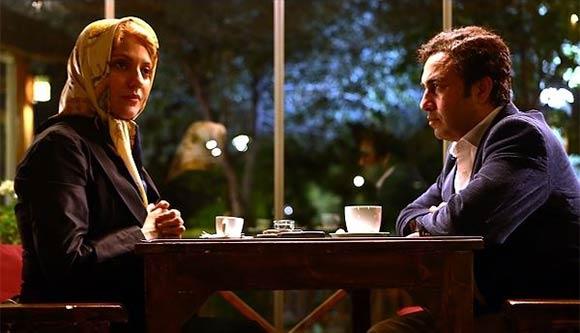 رضا عطاران و مهناز افشار در نمایی از فیلم