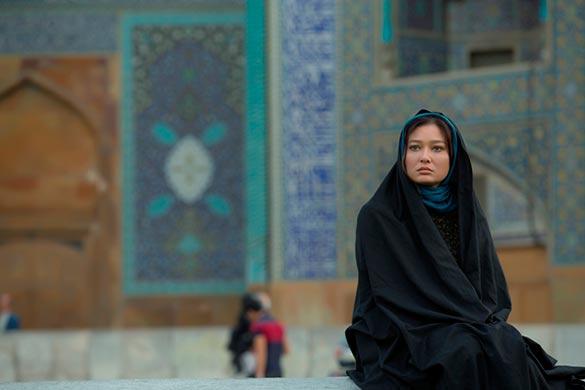 نورگل یشلیچای در نمایی از فیلم سینمایی