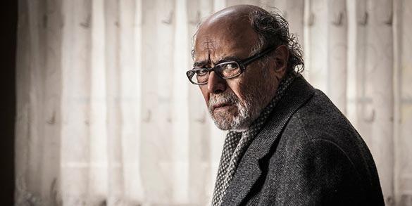 اکبر زنجانپور در نمایی از فیلم سینمایی