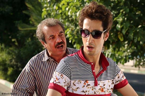 بهرام افشاری و سعید آقاخانی در نمایی از فیلم سینمایی