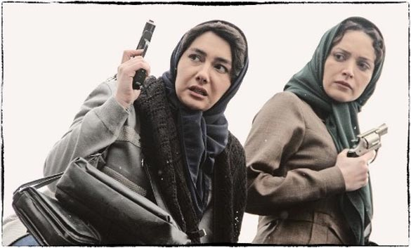 هانیه توسلی و بهنوش طباطبایی در نمایی از فیلم سینمایی