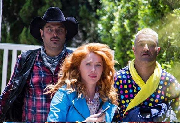 پژمان جمشیدی و سام درخشانی در فیلم سینمایی «تگزاس»