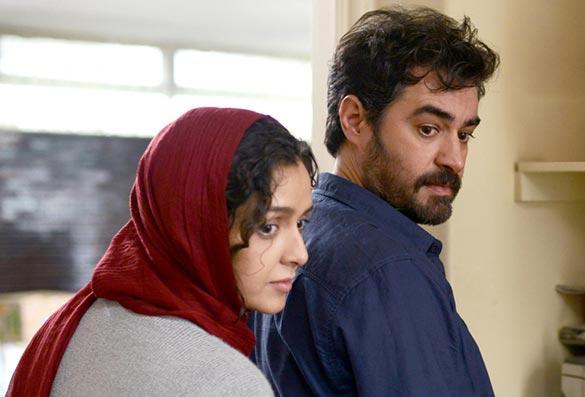 شهاب حسینی و ترانه علیدوستی در نمایی از فیلم سینمایی