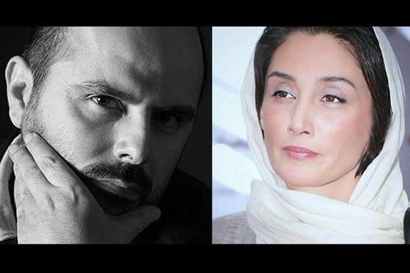 هدیه تهرانی - علی مصفا