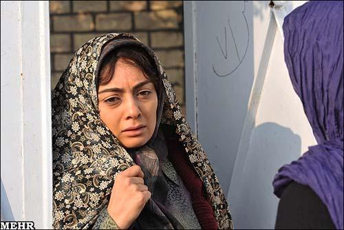 یکتا ناصر در نمایی از فیلم