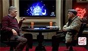 فریدون جیرانی و همایون اسعدیان در دوازدهمین قسمت از برنامه «کافه آپارات»
