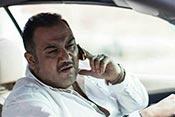 مهران غفوریان در نمایی از فیلم سینمایی